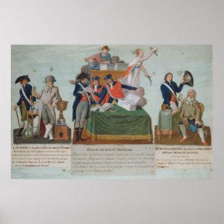 Lavoisier, the Comite de Surete Generale Poster