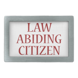 Law Abiding Citizen Belt Buckle