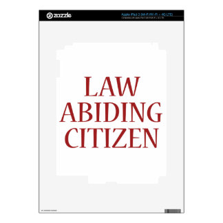 Law Abiding Citizen Decals For iPad 3