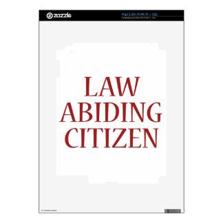 Law Abiding Citizen iPad 2 Decal