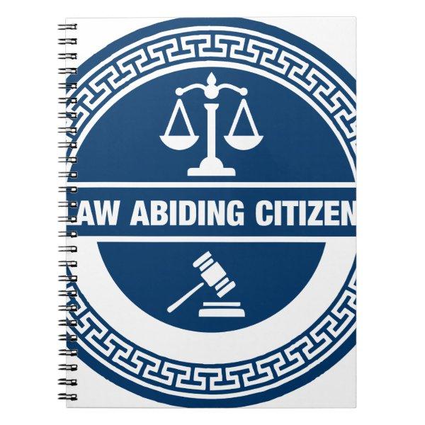 Law Abiding Citizen Notebook