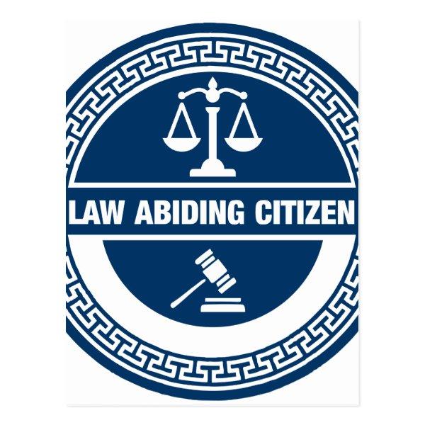 Law Abiding Citizen Postcard