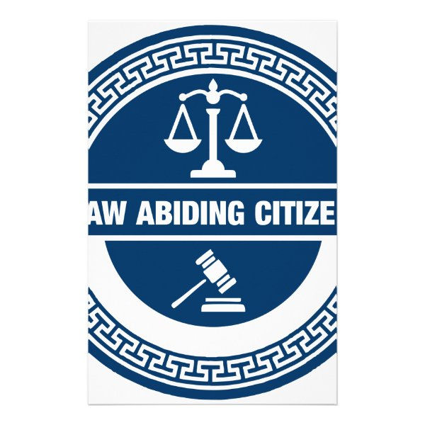 Law Abiding Citizen Stationery