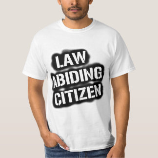 Law Abiding Citizen Value Tee, WHITE Tee Shirt