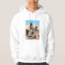 Law And Order Cowboy Hoodie
