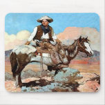 Law And Order Cowboy Mousepad