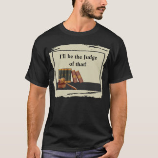 Law Books and Gavel T-Shirt