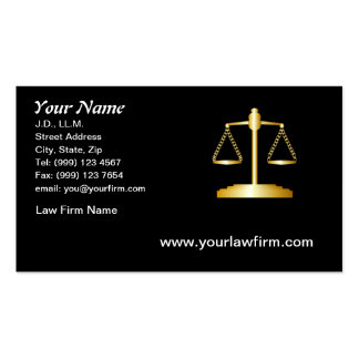 Law Business Card