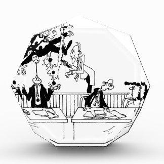 Law Cartoon 5314 Acrylic Award