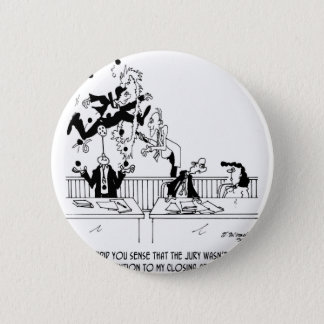 Law Cartoon 5314 Pinback Button