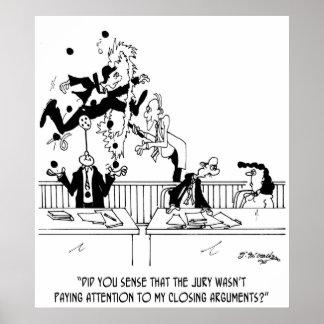 Law Cartoon 5314 Poster