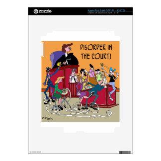 Law Cartoon 6553 iPad 3 Skins