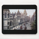 Law Courts London England 1925 Vintage Mouse Pad