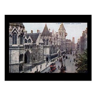 Law Courts London England 1925 Vintage Postcard
