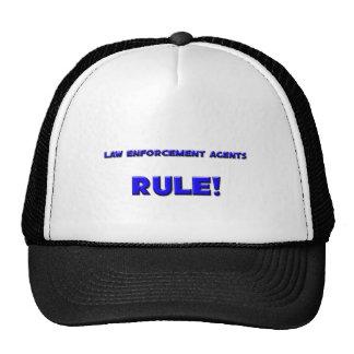 Law Enforcement Agents Rule! Mesh Hats
