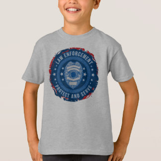 Law Enforcement Badge Seal of Safety T-Shirt