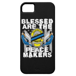 Law Enforcement Blessed are the Peace Makers iPhone SE/5/5s Case