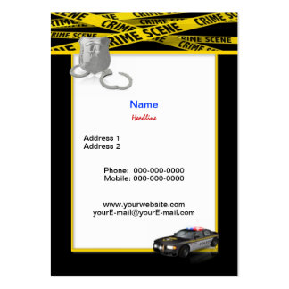 Police Department Business Cards & Templates