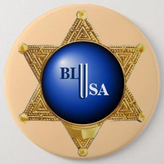 Law enforcement heroes button