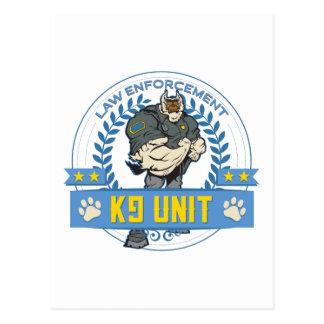 Law Enforcement K9 Unit Postcard