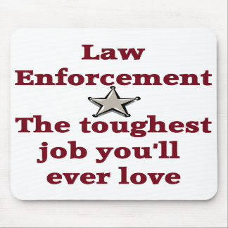 Law Enforcement Mouse Pad