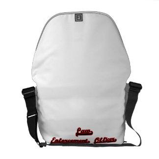 Law Enforcement Officer Classic Job Design Courier Bags