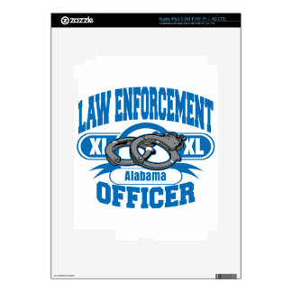 Law Enforcement Officer Handcuffs Alabama iPad 3 Skin