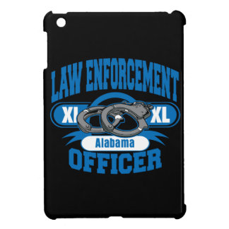 Law Enforcement Officer Handcuffs Alabama iPad Mini Cover