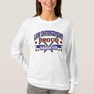 Law Enforcement Proud Daughter T-Shirt