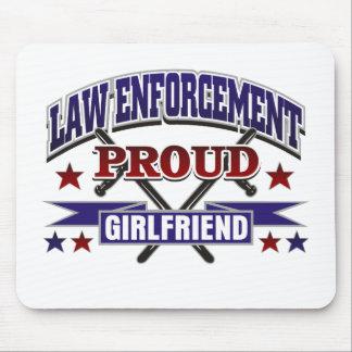 Law Enforcement Proud Girlfriend Mouse Pad