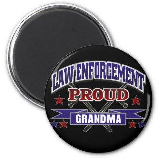 Law Enforcement Proud Grandma Magnet