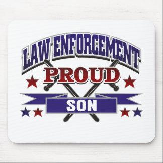 Law Enforcement Proud Son Mousepads
