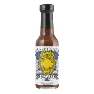 Law Enforcement Real Heroes Hot Pepper Sauce