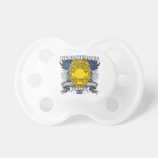 Law Enforcement Real Heroes Pacifier