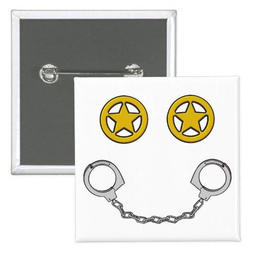 Law Enforcement Smile Button