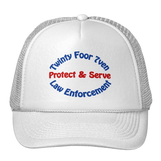 Law Enforcement Trucker Hat