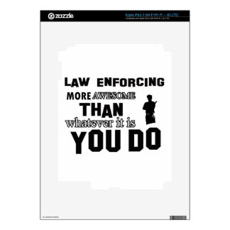 Law Enforcing awesome designs iPad 3 Skin