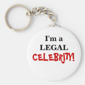 Law Exams Gift - Legal Celebrity Keychain