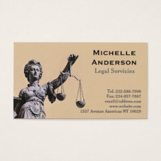 Law Firm Business Card at Zazzle