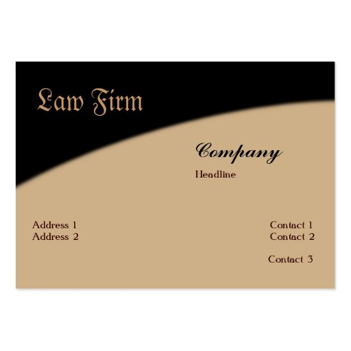 Law firm business card zazzle for Law business cards