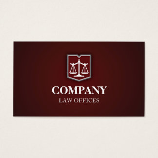 Law Firm Business Cards & Templates | Zazzle