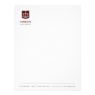Law Firm Professional Letterhead