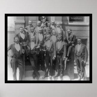Law Graduates of Howard University 1899 Poster