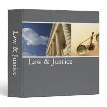 Law & Justice Binder binders