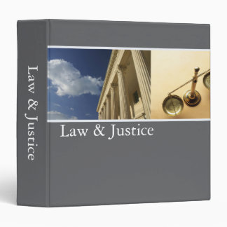 Law & Justice Binder
