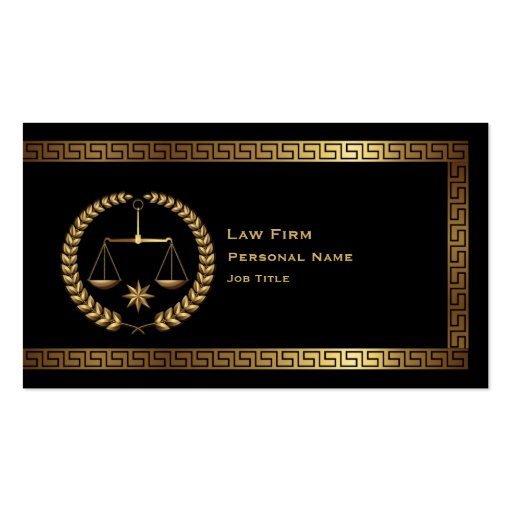 Law & Legal Business Card