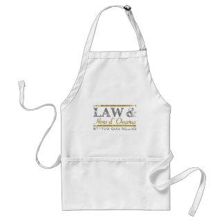 law-n-hors-LTT Adult Apron