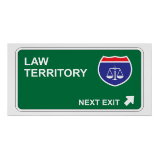 Law Next Exit Poster