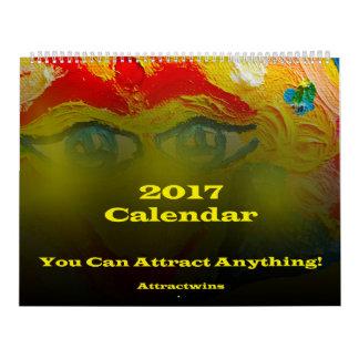 Law of Attraction 2017 Calendar