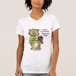 Law of Attraction Cartoon Abrahamster T Shirt